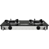 Fukuda FGS800GL Heat Resistant Tempered Glass Top Double Burner Gas Stove