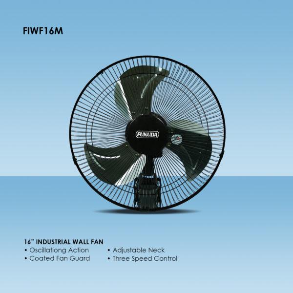 Fukuda FIWF16M 16″ Industrial Wall Fan