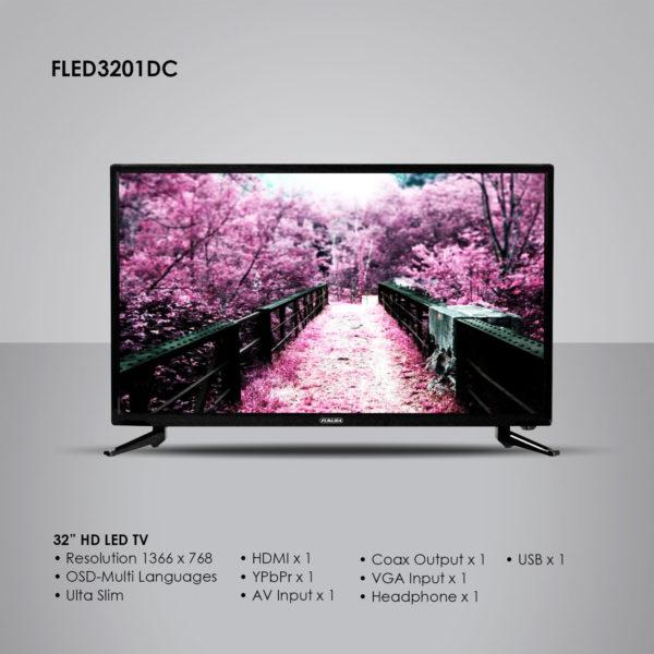 Fukuda FLED3201DC 32″ HD LED TV