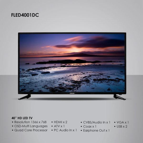 Fukuda FLED4001DC 40″ HD LED TV