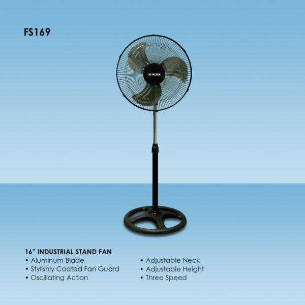 Fukuda FS169 16″ Industrial Stand Fan