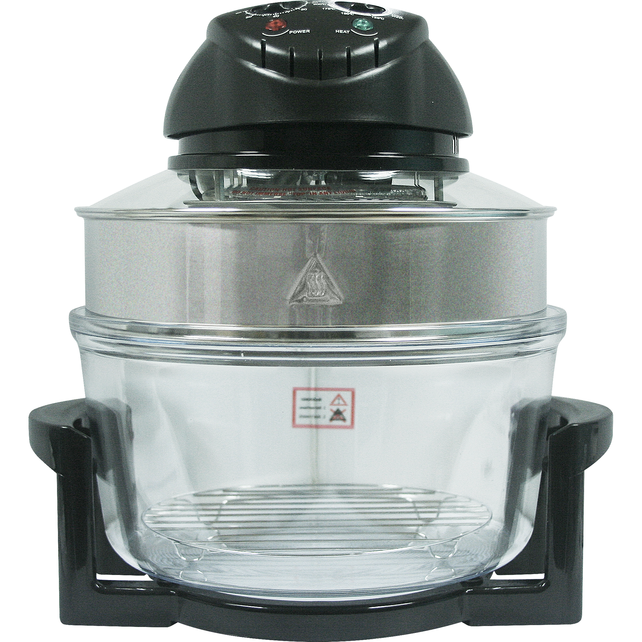 Fukuda FTB101 Turbo Broiler Halogen Oven with Extended Ring