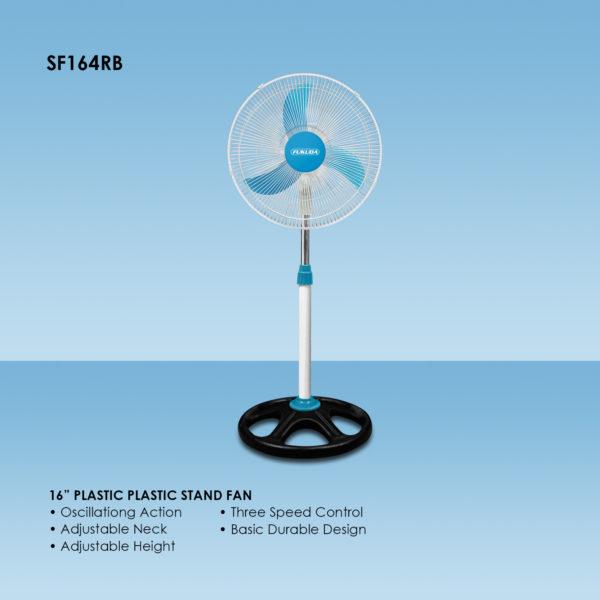 "Fukuda SF164RB 16"" Plastic Stand Fan"